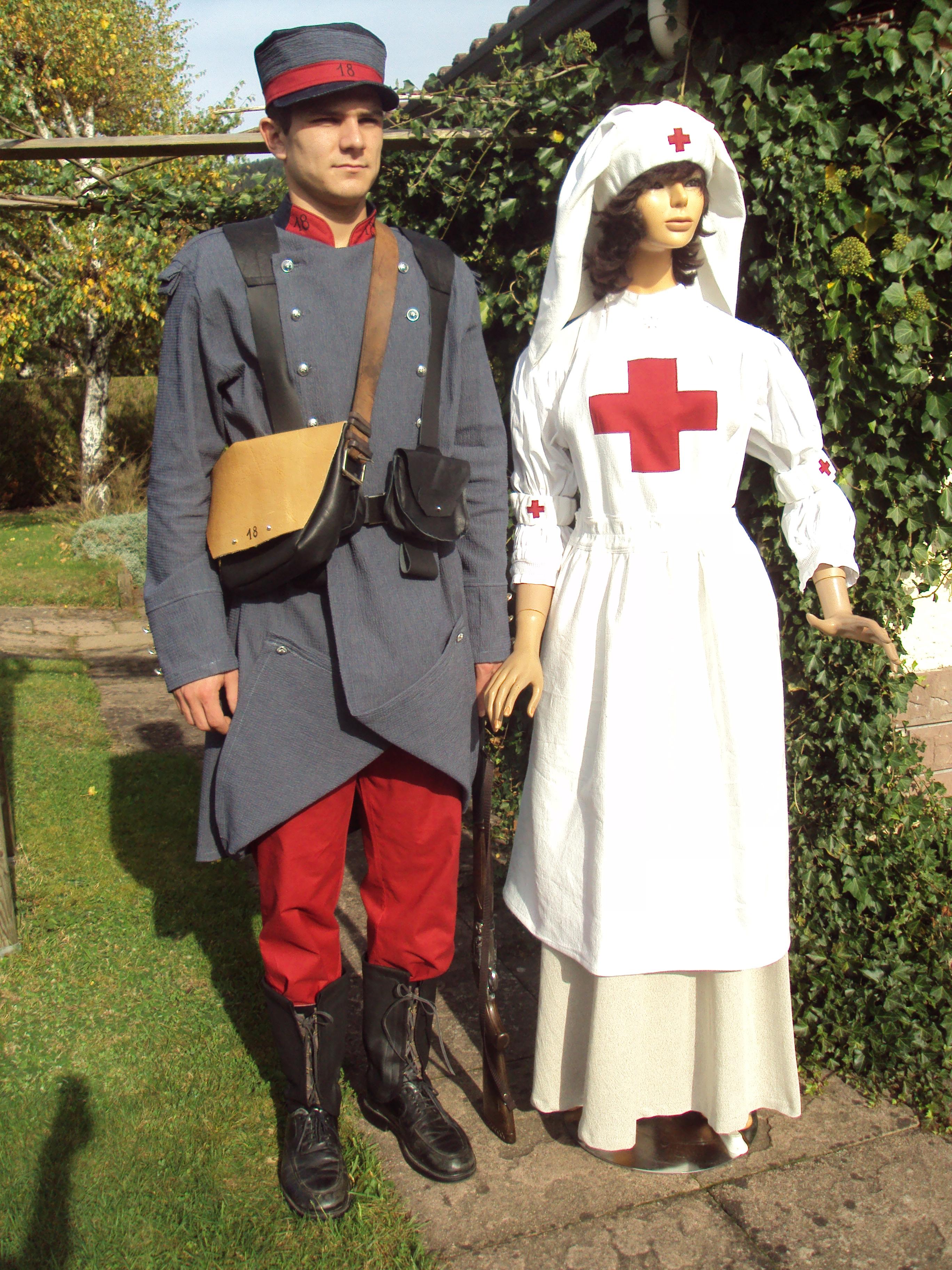 Uniforme des anciennes infirmières